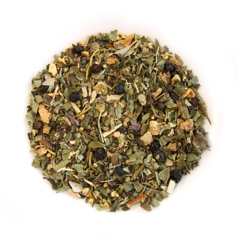 ORGANIC STAY WELL TEA | Caffeine free Herbal Infusion | Wellness Tea collection | 2 oz. Jar