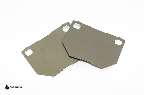 Titanium Brake Pad Shim Set (REAR)  - Mitsubishi/Nissan/Subaru