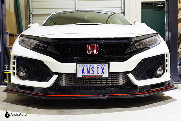 No-drill Front License Plate Holder - Honda Civic Type R FK8 (2017+)