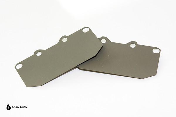 Titanium Brake Pad Shim Set (FRONT)  - Mitsubishi/Nissan/Subaru