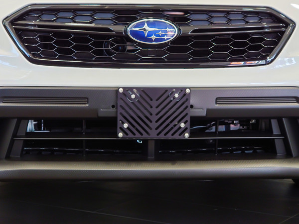 No-drill Front License Plate Relocator - Subaru WRX / STI VA 2018+