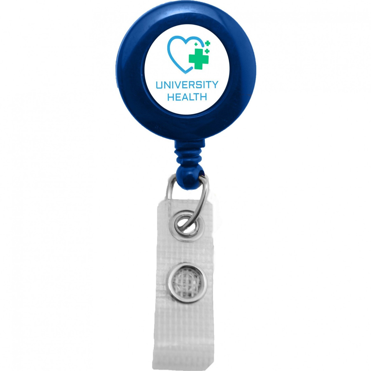 Reinforced Strap Badge Reel with Spring Clip