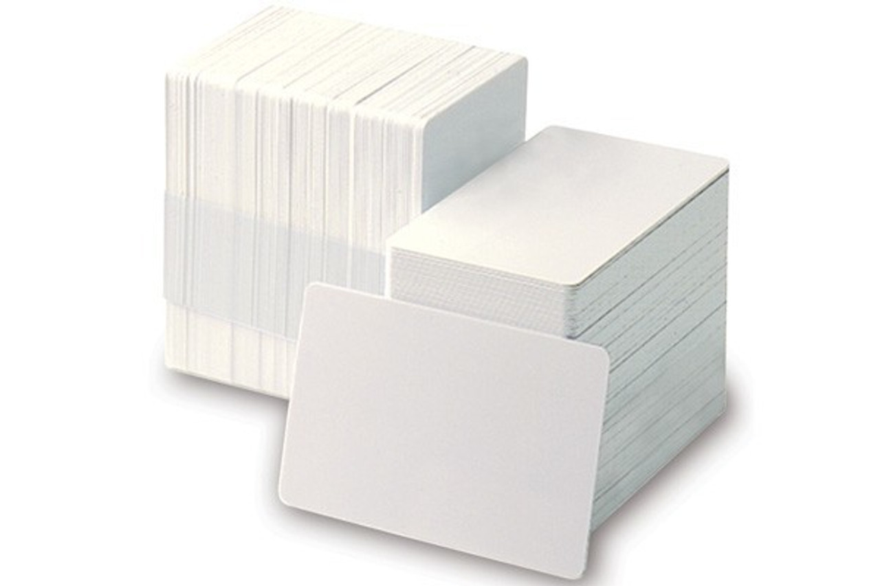 Blank and Adhesive-Backed PVC Cards