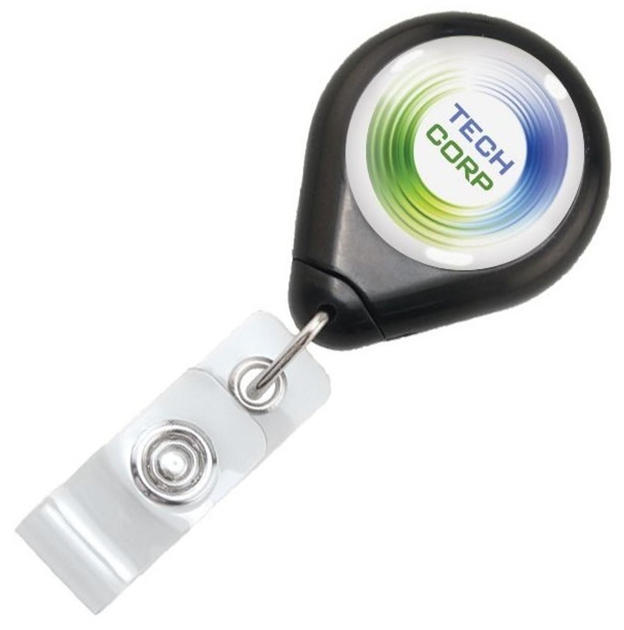 Premium Twist-Free Badge Reel with Swivel Clip