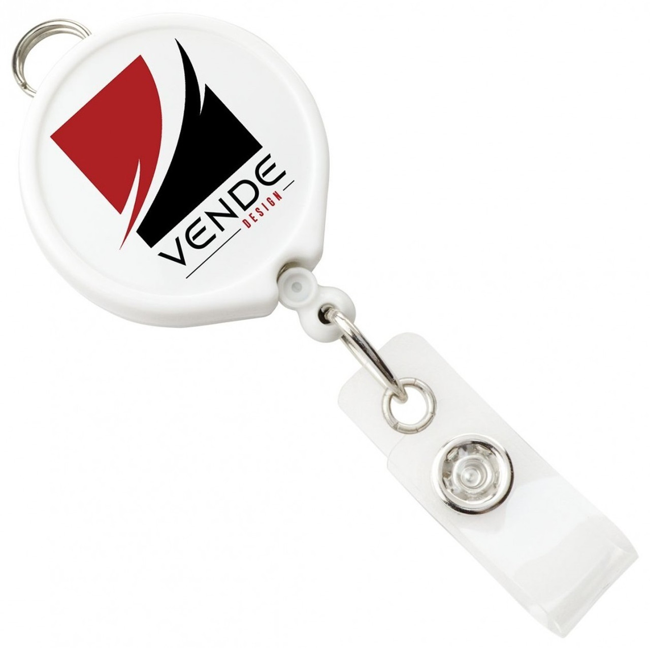 Logo Reel with Belt Clip and Vinyl Strap