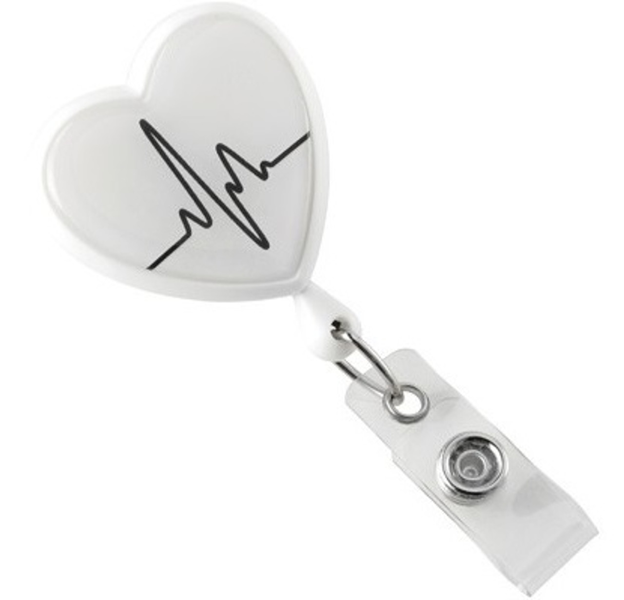 Heart-Shaped Badge Reel