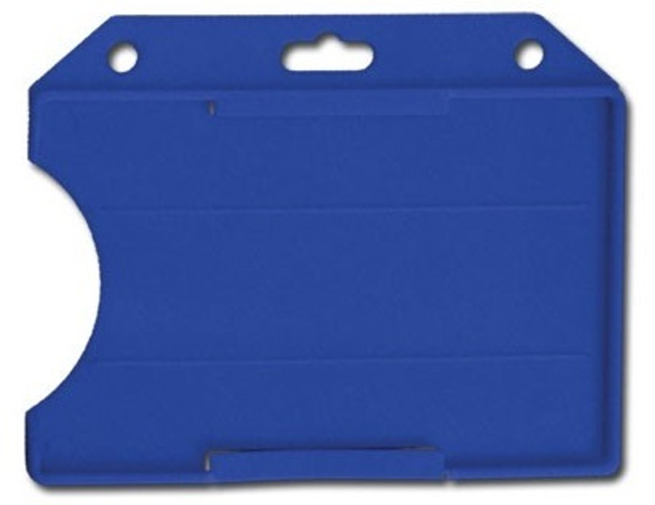 Horizontal One-Card Open-Face Card Holder