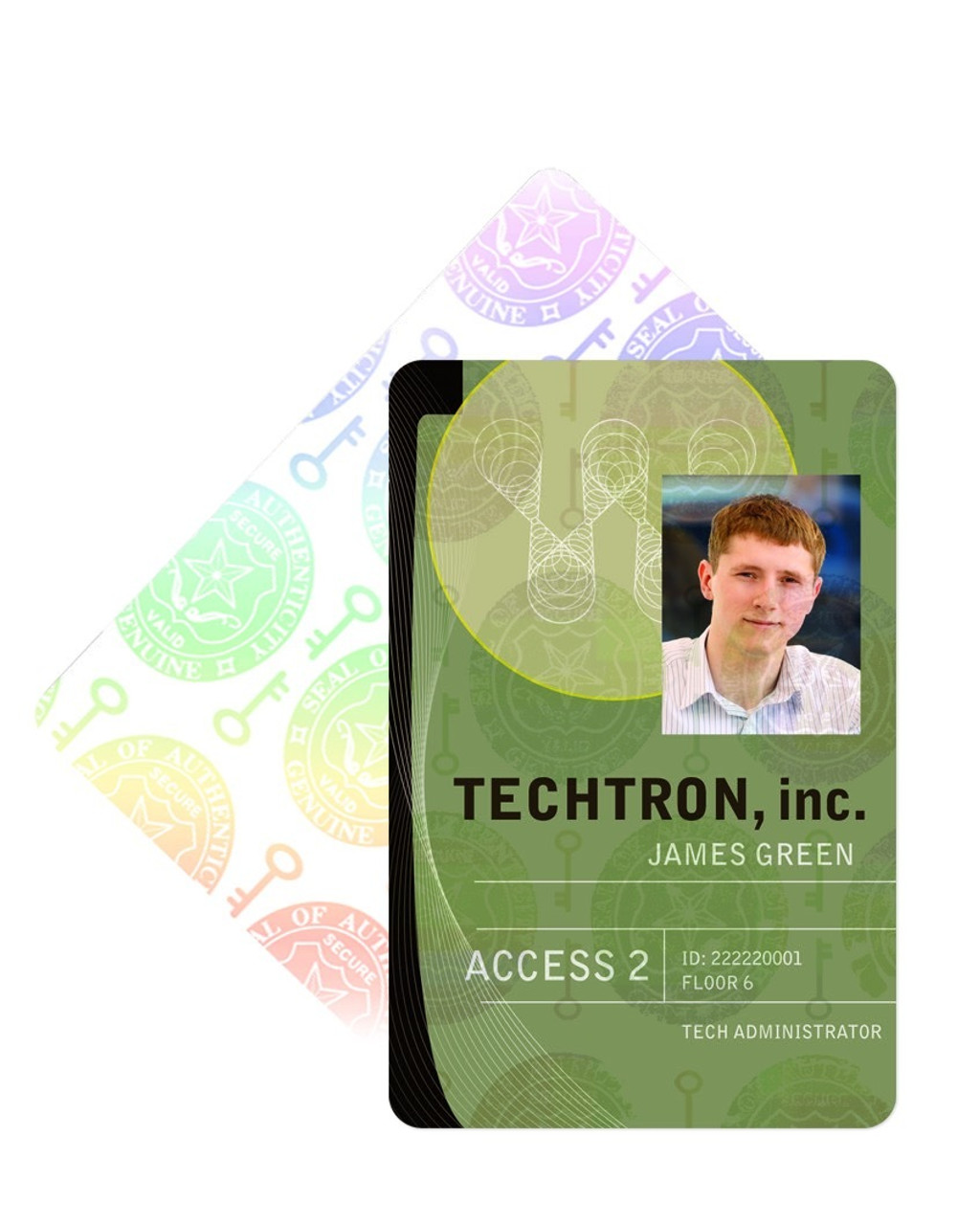 Adhesive Full-Card Security Overlays