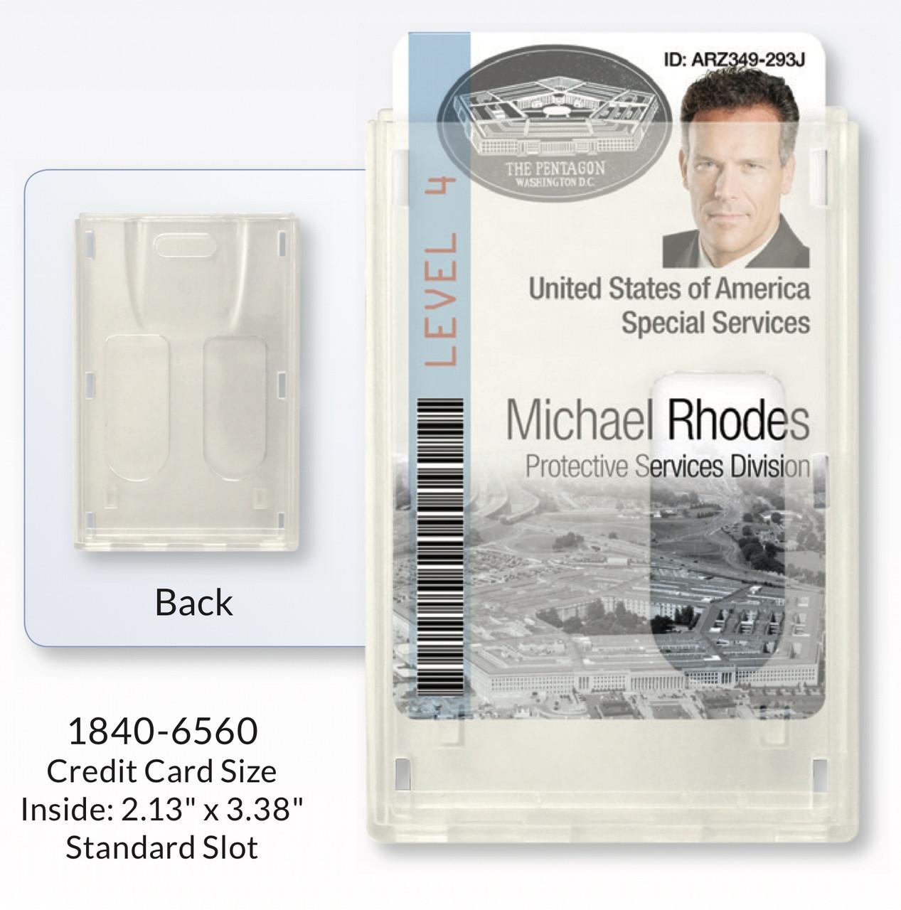 Two-Card Rigidwear Holder