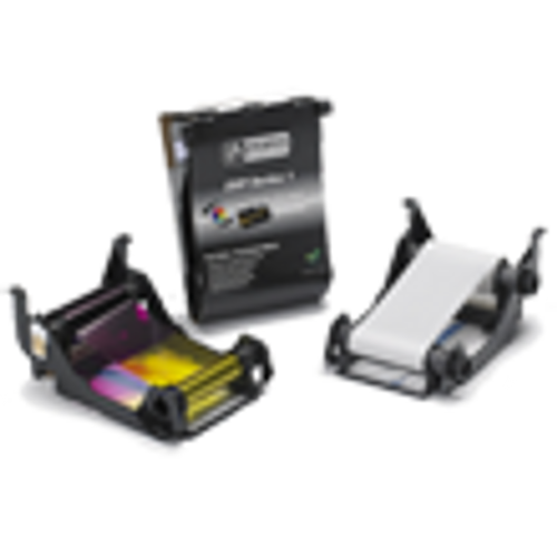 800011-109 Zebra ZXP Series 1 White Monochrome Ribbon (500 Yield)