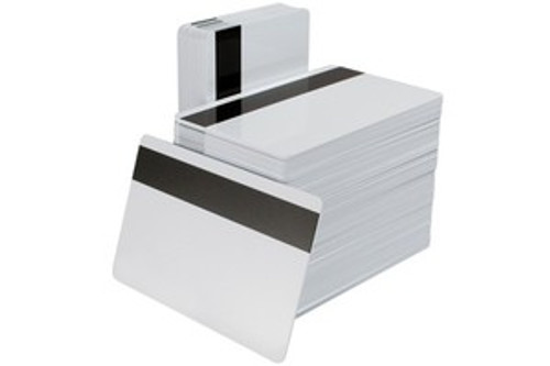 """1350-2010 PVC/Polyester High Coercivity PVC Cards with 1/2"""" HICO Magnetic Stripe (500/pkg)"""