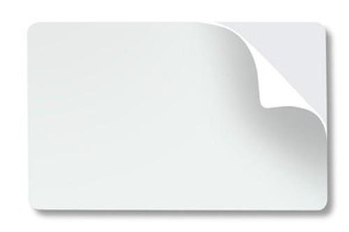 1350-2035 20-mil Stickyback PVC Card with Paper Back (500/pkg)