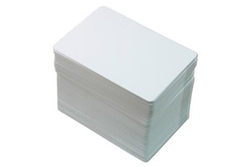 1350-1560 STANDARD BLANK PVC CARDS 10 ML, CR80 (500/pkg)