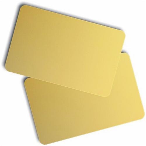 1350-2050 PVC Gold Card CR80-Credit Card Size (500/pkg)