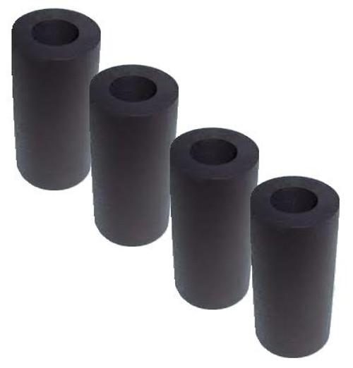 """8431-44 AFI 5000 Black 2.000"""" Ink Roller (pack of 4)"""