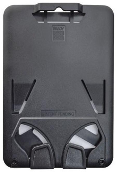 B-Holder Black 3-Card Rigid Plastic Vertical Holder (50/pk)
