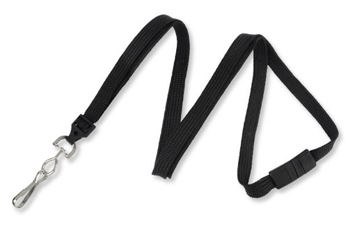 "3/8"" (10 mm) Breakaway Lanyard with Swivel Hook (100/pk)"