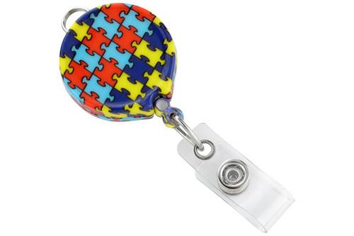 Autism Awareness Badge Reel (25/pk)