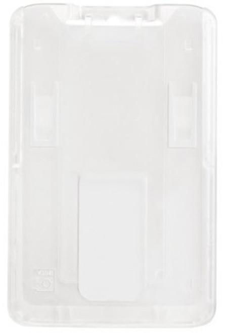 B-Holder Clear Rigid Plastic Vertical Holder (50/pk)