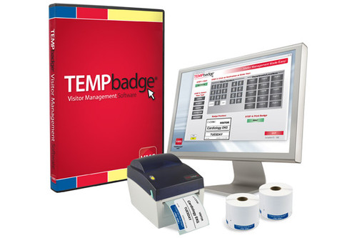 TEMPbadge™ Visitor Management System
