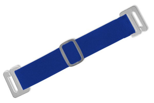 1840-7202 Royal Blue Adjustable Elastic Arm Band Strap (100/pk)