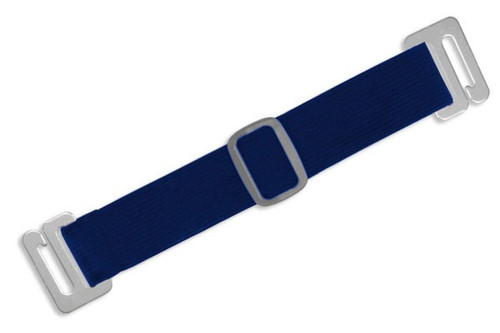1840-7203 Navy Blue Adjustable Elastic Arm Band Strap (100/pk)