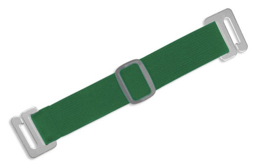1840-7204 Green Adjustable Elastic Arm Band Strap (100/pk)