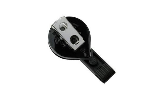 Black Twist-Free Mini-Bak Reel With Swivel Clip (25/pk)