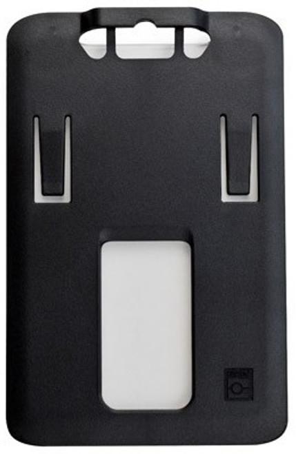 B-Holder Black Rigid Plastic Vertical Holder (50/pk)