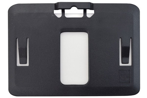 B-Holder Black Rigid Plastic Horizontal Holder (50/pk)