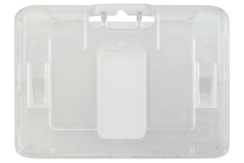 B-Holder Clear Rigid Plastic Horizontal Holder (50/pk)