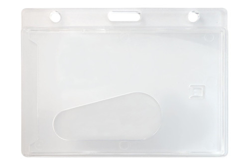 Economy Frosted Horizontal Side-Load Card Dispenser (50/pk)