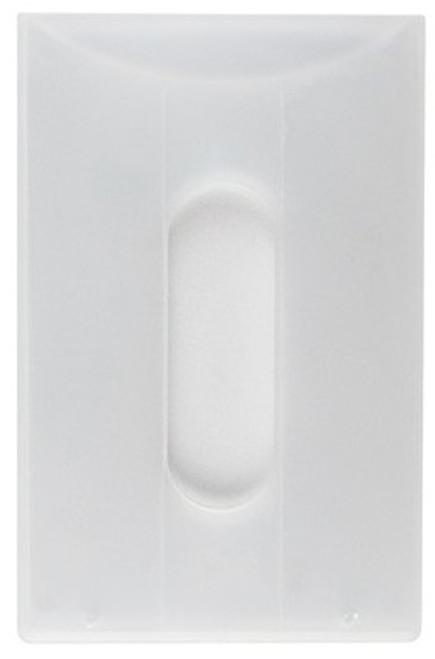 Clear Bank Card Rigid Holder (100/pk)