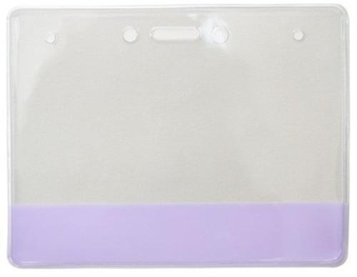 Vinyl Holder with Translucent Purple Colored Bar (100/pk)