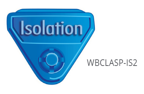 WBCLASP-xxx - In-A-Snap ISOLATION Alert Clasps