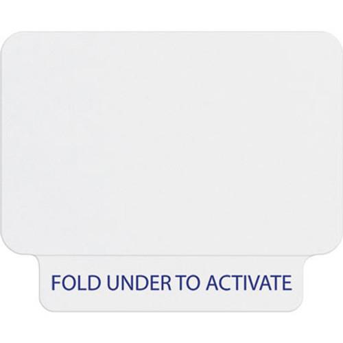 T2031 1-day single-piece adhesive tab-expiring badge