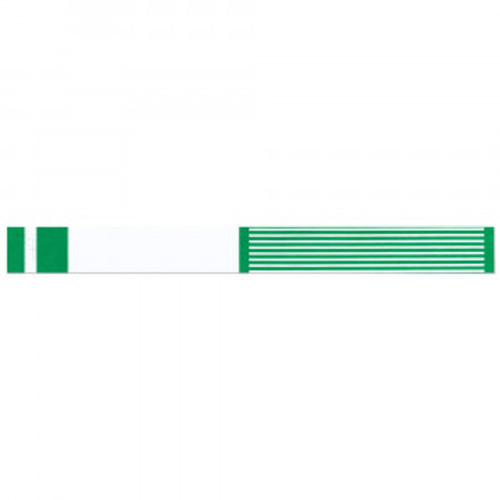 "SHORT STAY WRITE-ON WRISTBAND TYVEK 1""X10"" ADULT/PEDI KELLY GREEN - 1000 PER BOX - 3000-22-PDR"