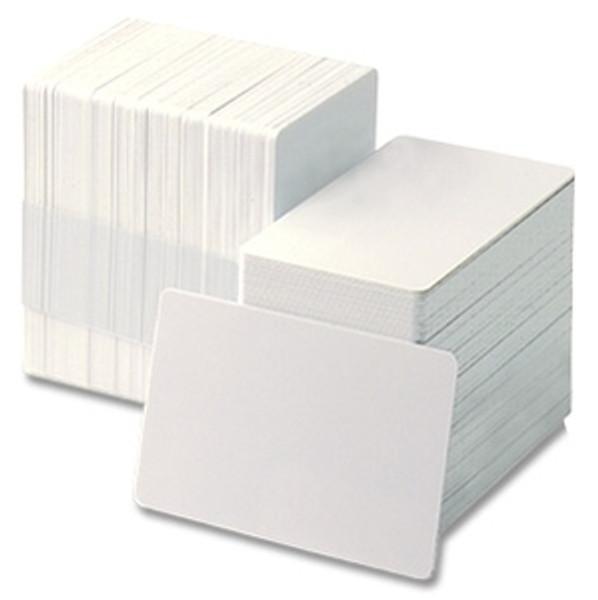 830WHGQ PVC White Graphics Quality Card (500/pkg) [MOST POPULAR CARD]