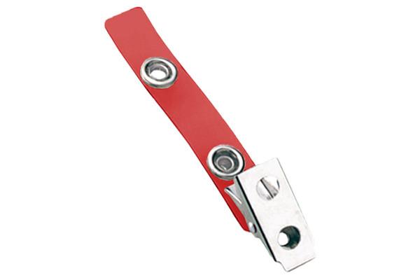 2105-2006 Red 2-Hole Colored Strap Clip (100/pk)