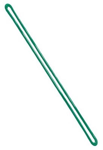 """Green 9"""" Plastic Loop Strap (100/pk)"""