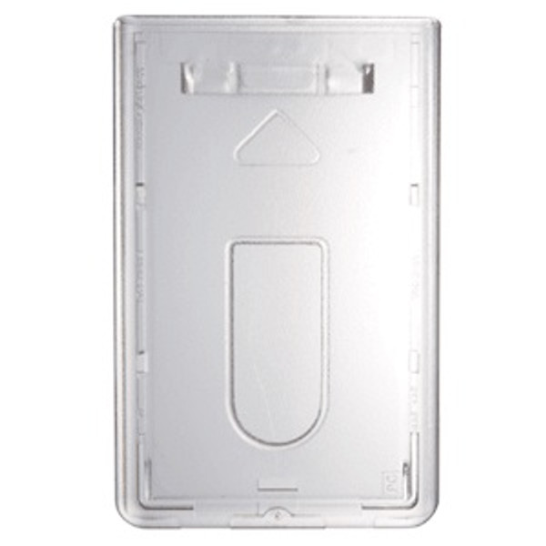 CLEARANCE! Premium Frosted Vertical Top-Load Card Dispenser (45/pk)