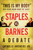 """This Is My Body"": Did Jesus Mean What He Said? - Staples vs. Barnes - A Debate(CD)"