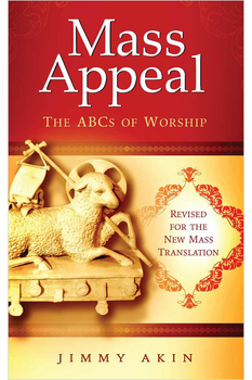 In the new revised edition of his booklet from Catholic Answers, Mass Appeal: the ABC's of Worship, Jimmy Akin masterfully walks you through the Mass from beginning to end, explaining precisely what is happening and -- more importantly -- why.  In the end you'll see -- perhaps for the first time -- precisely how all the pieces of the Mass fit together to create a single, coherent whole.