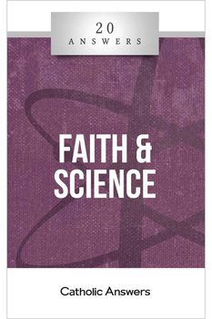 A False Dilemma of Truth  Didn't the Church persecute Galileo?  Aren't faith and reason two separate and distinct kinds of truth?  Why do Christians believe in the biblical creation story when science has disproved it?  In this booklet you'll find smart, solid answers to these questions and many more.  20 Answers: Faith & Science will clear away misconceptions and help you understand—and explain to your friends and family—the complex but ultimately harmonious relationship between religious and scientific truth.  The 20 Answers series from Catholic Answers offers hard facts, powerful arguments, and clear explanations of the most important topics facing the Church and the world—all in a compact, easy-to-read package.