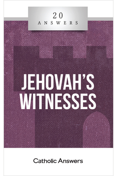 Inside the Watchtower  Who are the Jehovah's Witnesses and what do they believe?  How do you respond to their claims that God isn't a Trinity and Jesus isn't divine?  What do the Jehovah's Witnesses teach about Jesus' return and the world to come? What's the best way to evangelize Jehovah's Witnesses when they come knocking on my door?  In 20 Answers: Jehovah's Witnesses you'll find smart, solid answers to these questions and many more.  20 Answers: Jehovah's Witnesses looks beyond the colorful tracts and pleasant promises of this quasi-Christian sect to reveal its origins, beliefs, and practices. And it gives you the knowledge you need to respond to friends, families, and missionaries who try to steer you away from the Church and into Kingdom Hall.  The 20 Answers series from Catholic Answers offers hard facts, compelling arguments, and clear explanations of the most important topics facing the Church and the world—all in a compact, easy-to-read package.