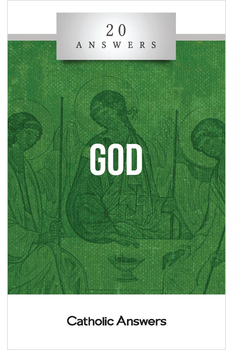 """""""I Am Who I Am""""  Who...or What...is God?  Does the universe provide clues to God's existence?  Why would a loving all-powerful God permit suffering in the world?  What are some reasons to believe in the Trinitarian God of the Christian Bible?  In this booklet you'll find smart, solid answers to these questions and many more.  20 Answers: God guides you down a path of rational inquiry and understanding toward an encounter with the central mystery of the universe.  The 20 Answers series from Catholic Answers offers hard facts, powerful arguments, and clear explanations of the most important topics facing the Church and the world—all in a compact, easy-to-read package."""
