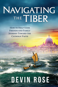 For Protestants considering the Catholic Church, the journey across the Tiber River to Rome can be long and perilous, filled with many obstacles and detours.  For Catholics who want to help them make the crossing, often it isn't enough to give the right arguments, proof texts, or book recommendations—you have to journey with them.  In Navigating the Tiber, Devin Rose (author of The Protestant's Dilemma) draws from his own experience as a convert and Catholic apologist to help you guide your Protestant friends and family members on that harrowing river voyage.  Not only does he equip you with the knowledge—from Scripture, the early Church, and Christian history—you'll need to answer their questions and challenges, he shows you how to deal with the common aspects of a convert's journey, including:      The best subjects to talk about—and avoid—plus the right order to put them in     The five biggest non-doctrinal problems that keep Protestants out of the Church     What to do when their anti-Catholic friends pressure them     Adapting your efforts to their particular Protestant tradition     The importance of continual prayer and friendship, whether they convert or not  The river to Rome is unruly but crossable; read Navigating the Tiber and help your friends and family have smoother sailing on their way to Christ's Church.