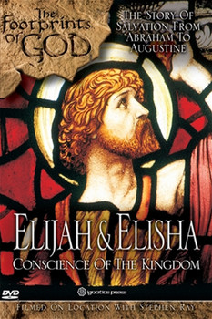 Shunning comforts and risking their lives, the great prophets Elijah and Elisha stood fearlessly against pagan priests and kings who opposed the God of Israel.  The Israelites fell into gross idolatry with sensuous fertility cults. With fiery words and powerful miracles the prophets were the voice of God.  Join the adventure as Stephen Ray, best-selling author and popular Bible teacher takes you on an exciting journey in Elijah & Elisha: Conscience of the Kingdom through Jordan, Israel, Sinai and Egypt.  You'll witness God's power demonstrated through Elijah and Elisha, the conscience of the kingdom, as they confront the powers arrayed against them, preparing the way for Christ.  Join this sweeping saga, all in a fast-paced, entertaining biography, travel documentary, Bible study, apologetics course and Church history study rolled into one remarkable adventure!