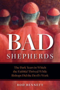 Shocked to find corruption widespread in the ranks of their shepherds today, too many good Catholics are tempted to leave the Church, unaware that ever since the days when Jesus' own treasurer, Judas Iscariot, had his hand in the till, the Good Shepherd and His faithful followers have regularly been betrayed by bad shepherds.    In the eye-opening pages of Bad Shepherds, Church historian Rod Bennett introduces a number of those bad shepherds, including:      Bishop Eusebius of Nicomedia, who regularly sold out the Church to the Roman emperor     Pope Stephen VII, who so hated his late predecessor that he had him dug up, put on trial, and flung into the Tiber     Benedict IX, who bought and sold the papacy (twice!)     and Pope John XII, whose debauchery rivaled that of the corrupt emperor Caligula.  Those were very bad shepherds indeed, but while they did the Devil's work, good Catholics not only survived — they thrived.  They outlasted their bad shepherds, preserved in their ranks the Faith of our fathers, and served in each instance as the foundation for a cleansing of the House of God and a vigorous renewal of the Faith.  These enlightening pages demonstrate that  it can happen again!