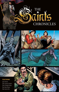 The Saints Chronicles bring vividly to life the stories of courageous Christians from the earliest days of Christianity to modern times. All four volumes of this Graphic Novel Series are packed with engaging texts and dramatic images that captivate and inspire readers of all ages.  In this first volume, you'll dive into the life of Christianity's boldest heroes of the Faith, including:      St. Patrick, a young boy captured by Irish pirates and made a slave, only to escape and later return to convert all of pagan Ireland to Christianity.     St. Jerome Emiliani, the bold soldier who became a Christian while imprisoned in a dark dungeon, escaping to join the priesthood and lead a life in service to the poor and suffering.     St. Elizabeth Ann Seton, the wealthy New York widow who made vows of poverty and chastity, creating the very first Catholic schools in the United States and becoming America's first saint.     St. Henry Morse, the Catholic convert who became a priest and bravely spread the Faith in Protestant England, only to be arrested and martyred for being Catholic.     St. Joan of Arc, the thirteen-year-old-girl who God called to rally a demoralized army and lead the Catholic French to an overwhelming defeat of the English.  The stirring adventures of these brave Christian souls remind us that God has in mind for each of us a unique mission, worthy of all our imagination and all our daring.  Appealing to readers of all ages, these four Graphic Novels will enhance literacy and promote content retention while introducing Catholic saints in a form that can be enjoyed again and again.
